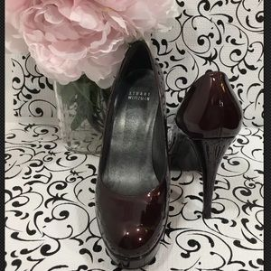 Stuart Weitzman Platswoon Patent Leather Pumps